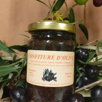 Confiture d'olive 155g