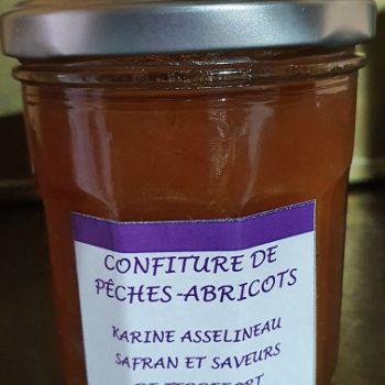 Confiture de pêches /Abricots