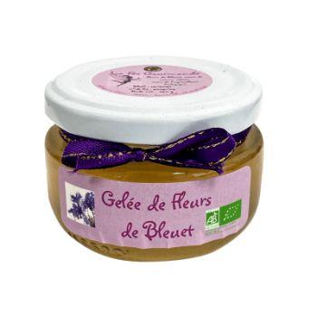 GELEE DE FLEURS DE BLEUET...