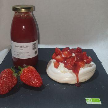 Coulis de fraise 25cl BIO